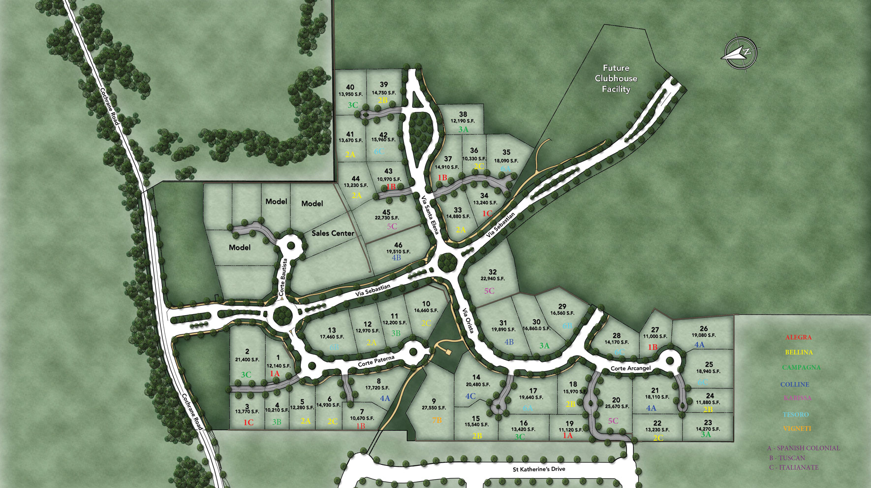 Borello Ranch Estates Site Plan