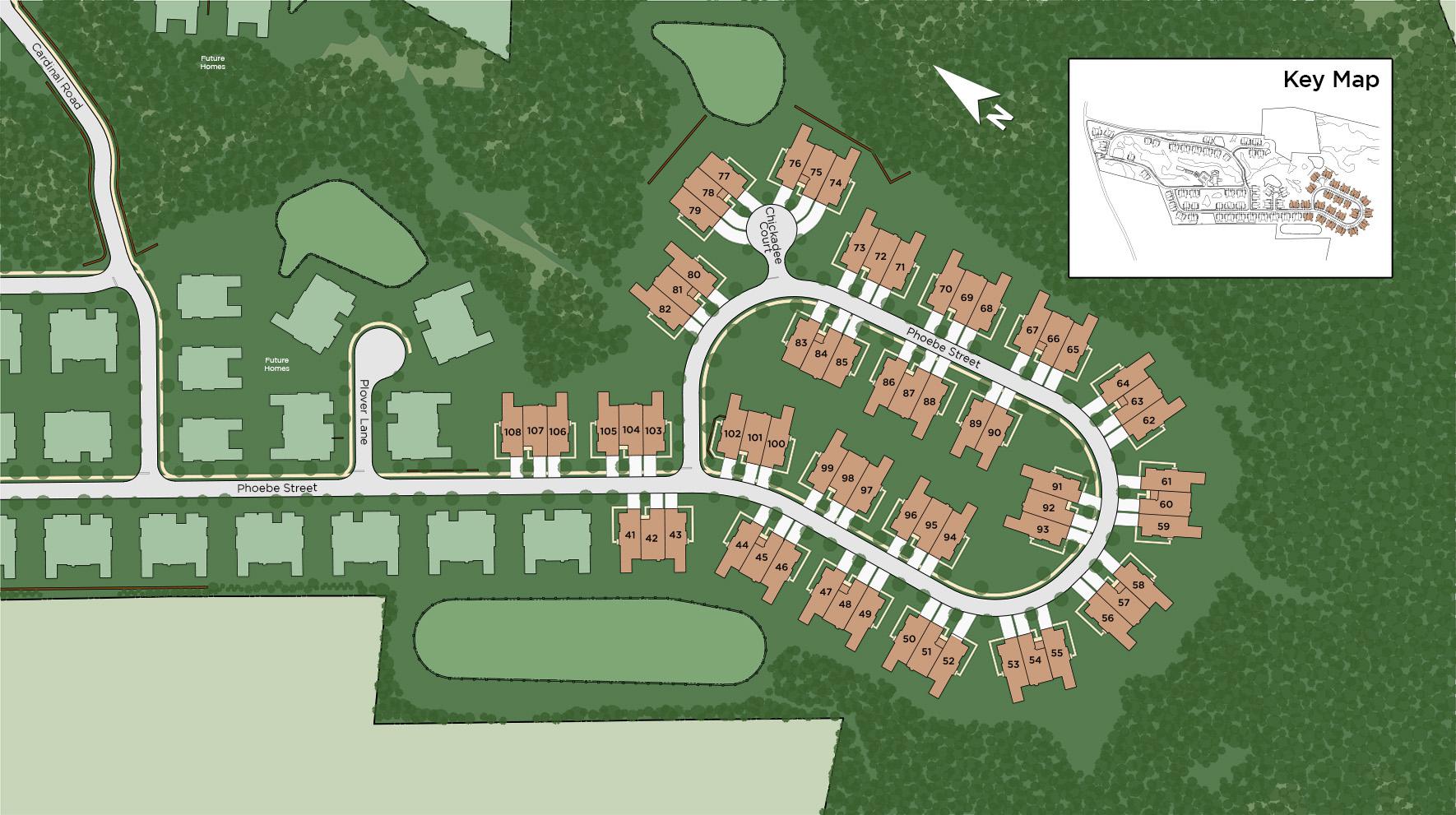 Preserve at Emerald Pines - Phoebe Street Site Plan