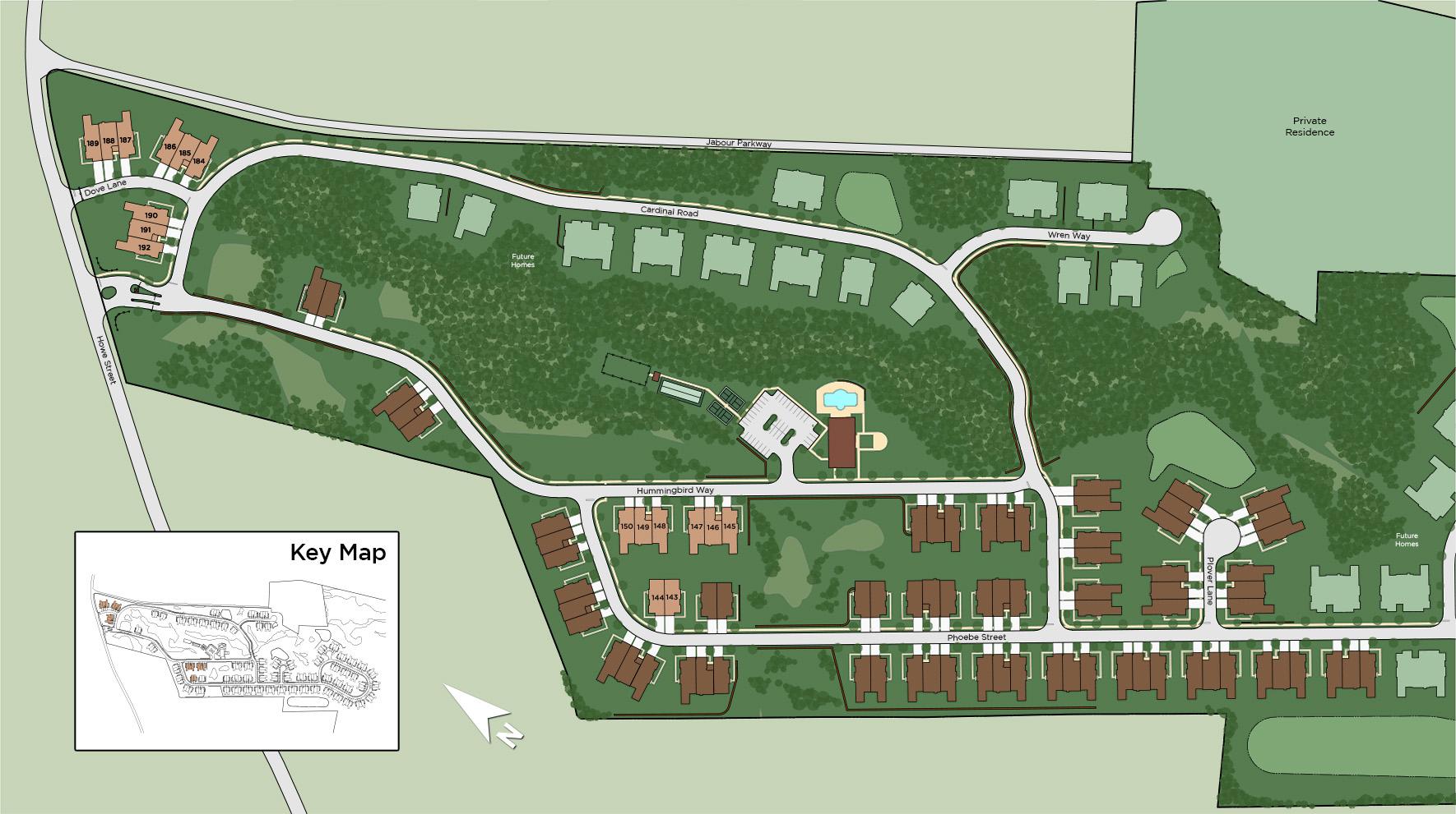 Preserve at Emerald Pines -  Hummingbird Way Site Plan