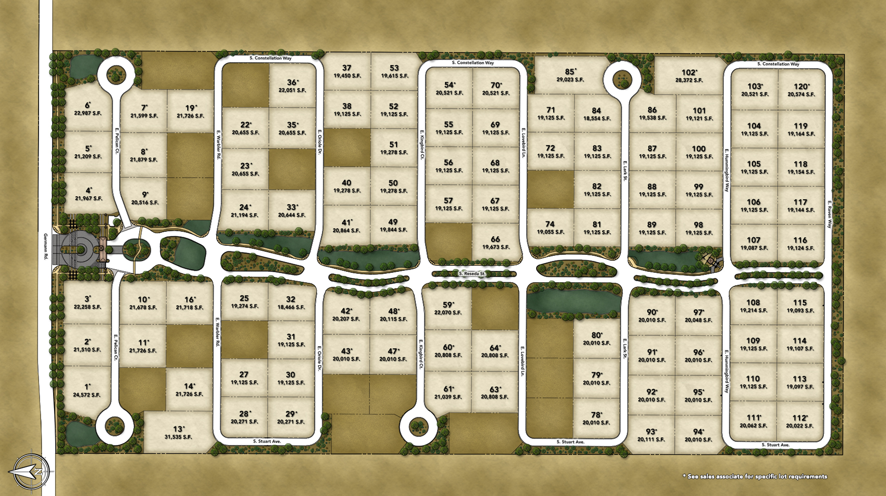 Toll Brothers at Whitewing Site Plan