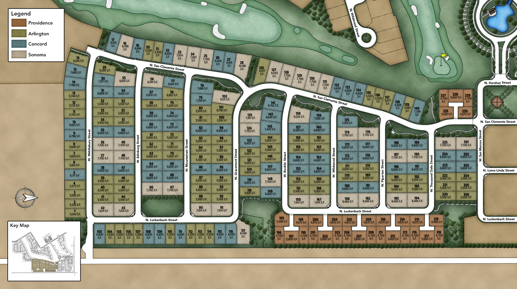 Sterling Grove - Single-Family Site Plan