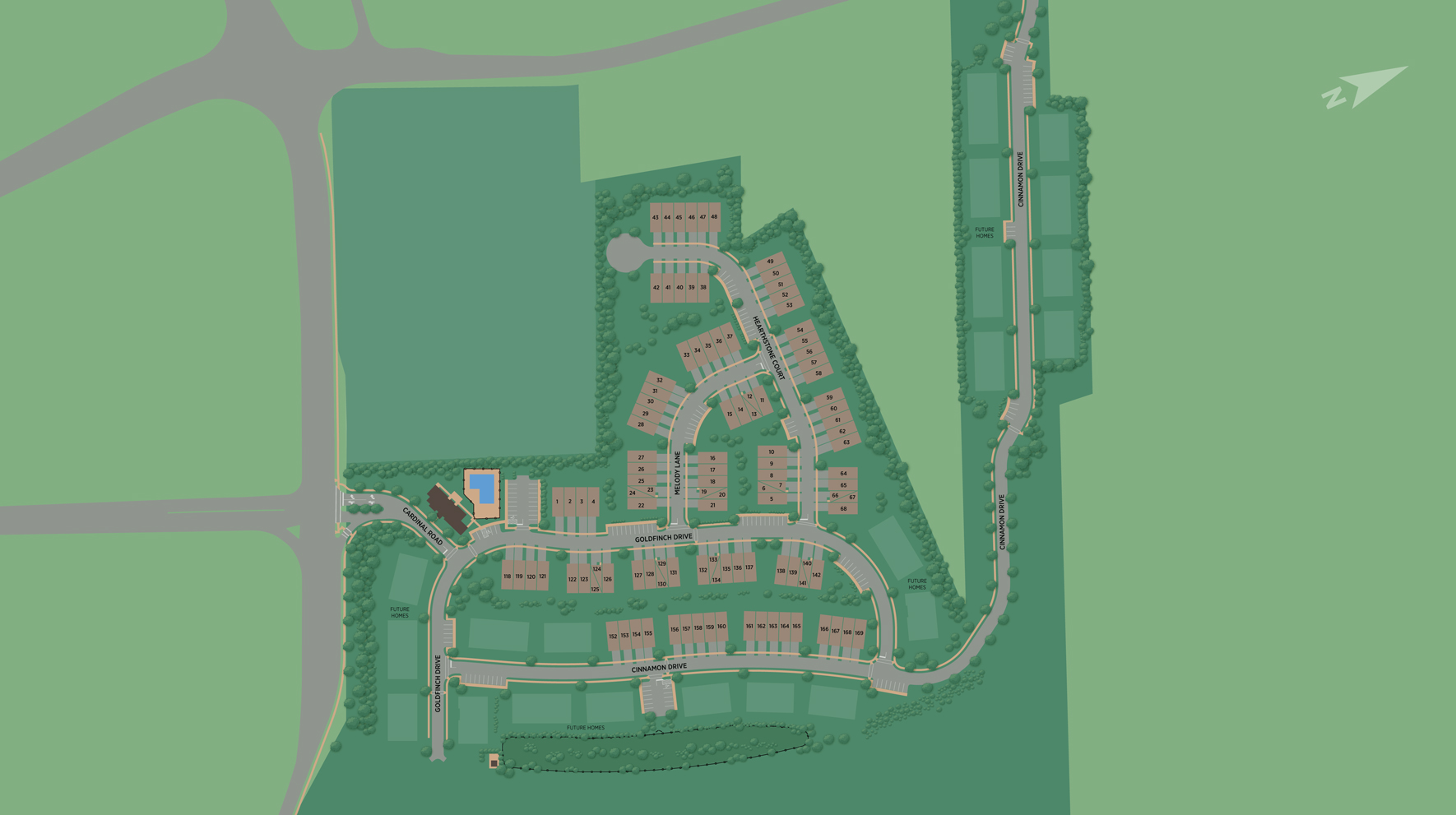 The Grove at Upper Saddle River Site Plan