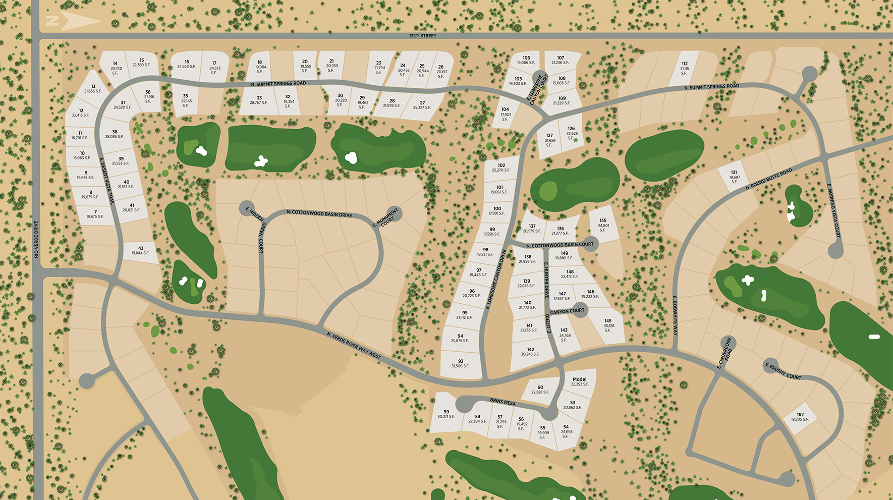 Toll Brothers at Verde River Site Plan