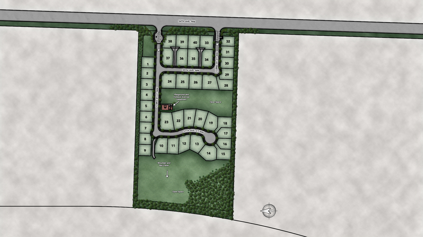 Bayview at Gig Harbor Site Plan
