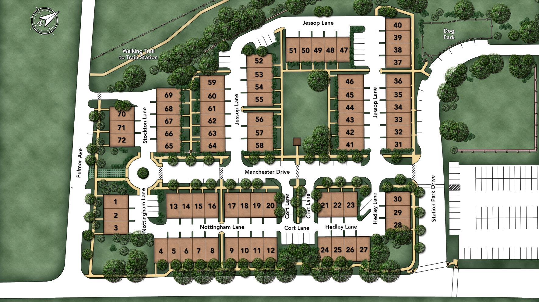 Hatboro Station Overall Site Plan