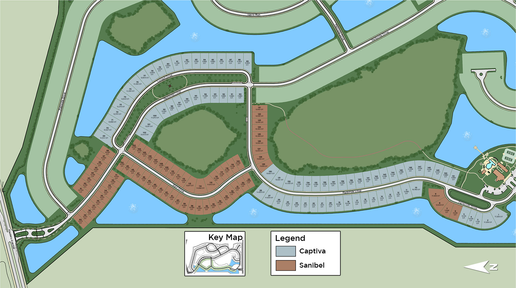 The Isles at Lakewood Ranch - Sanibel Collection Site Plan I