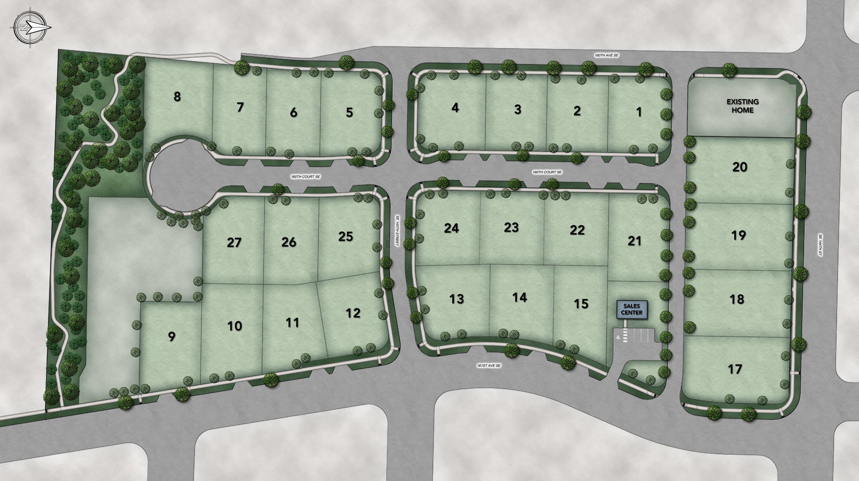 The Cedarcroft Overall Site Plan