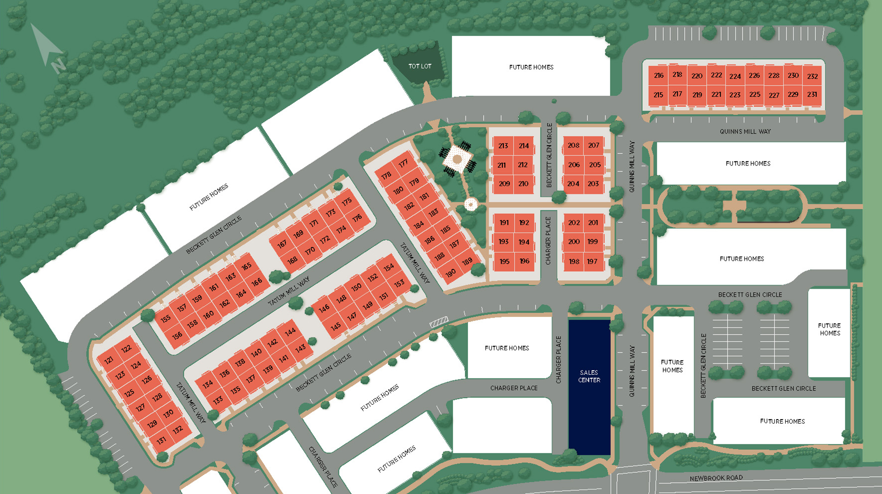 Commonwealth Place at Westfields - The Fairfax Site Plan