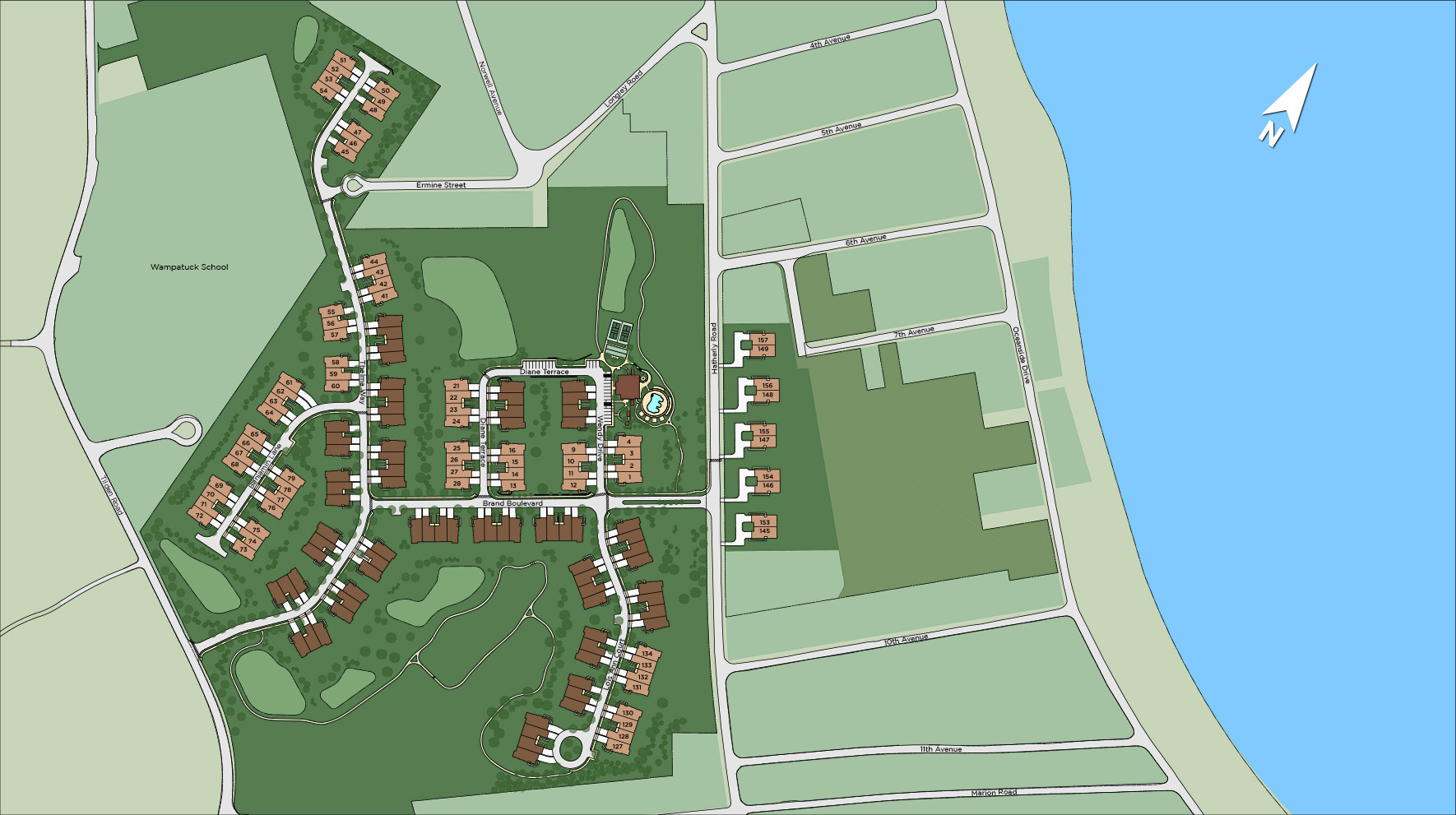 Seaside at Scituate - The Carriage Collection Site Plan