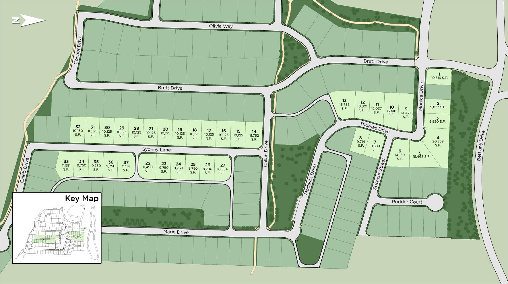 Montgomery Farm Estates Site Plan