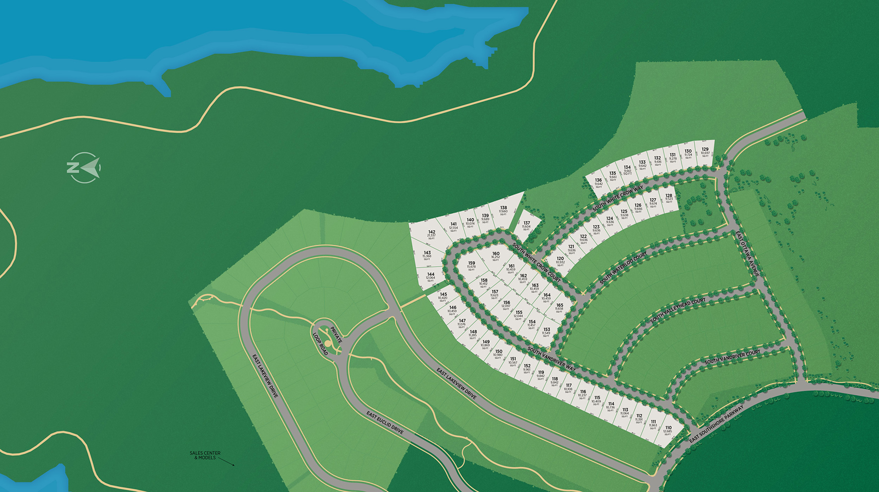 Vista Point at Southshore Site Plan II