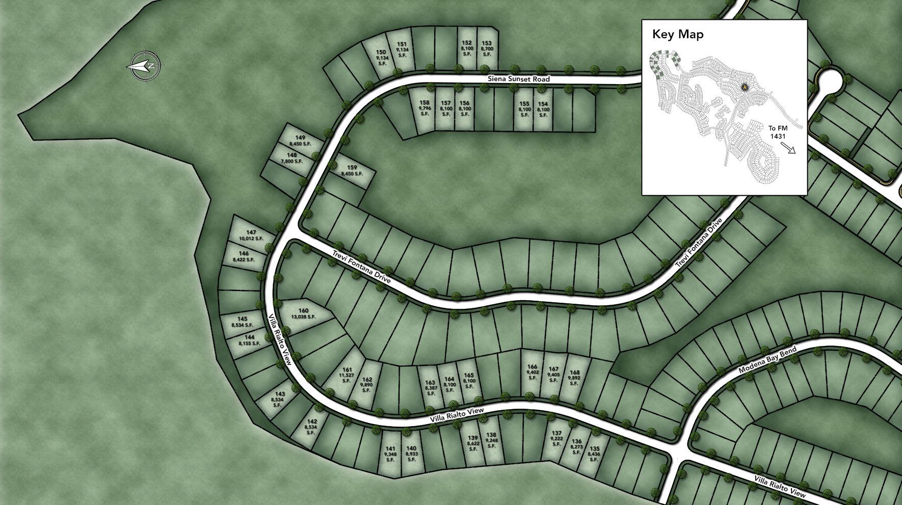 Travisso - Siena Collection Site Plan IV