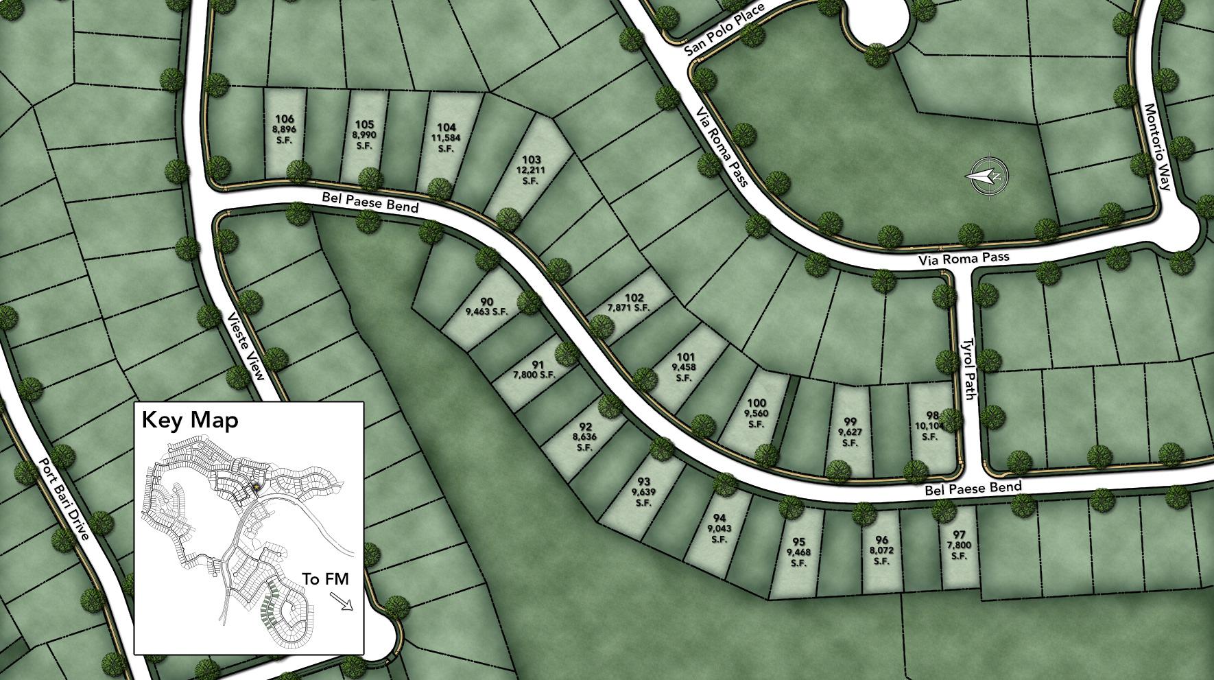 Travisso - Siena Collection Site Plan II