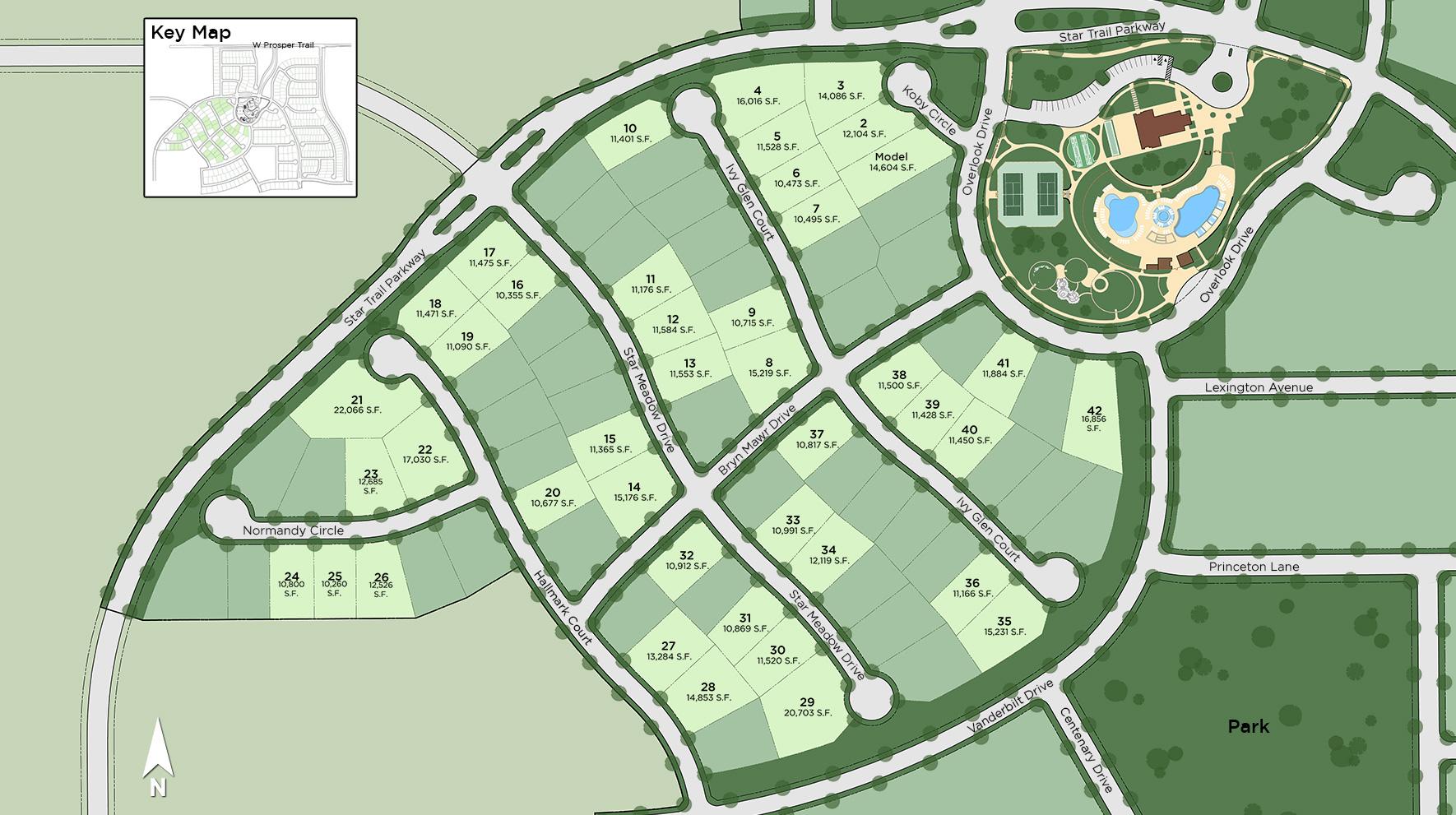 Star Trail Site Plan