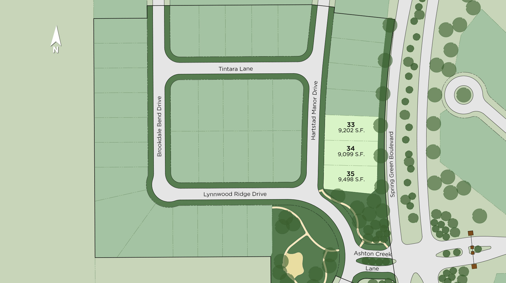 The Reserve at Katy - The Trace Site Plan