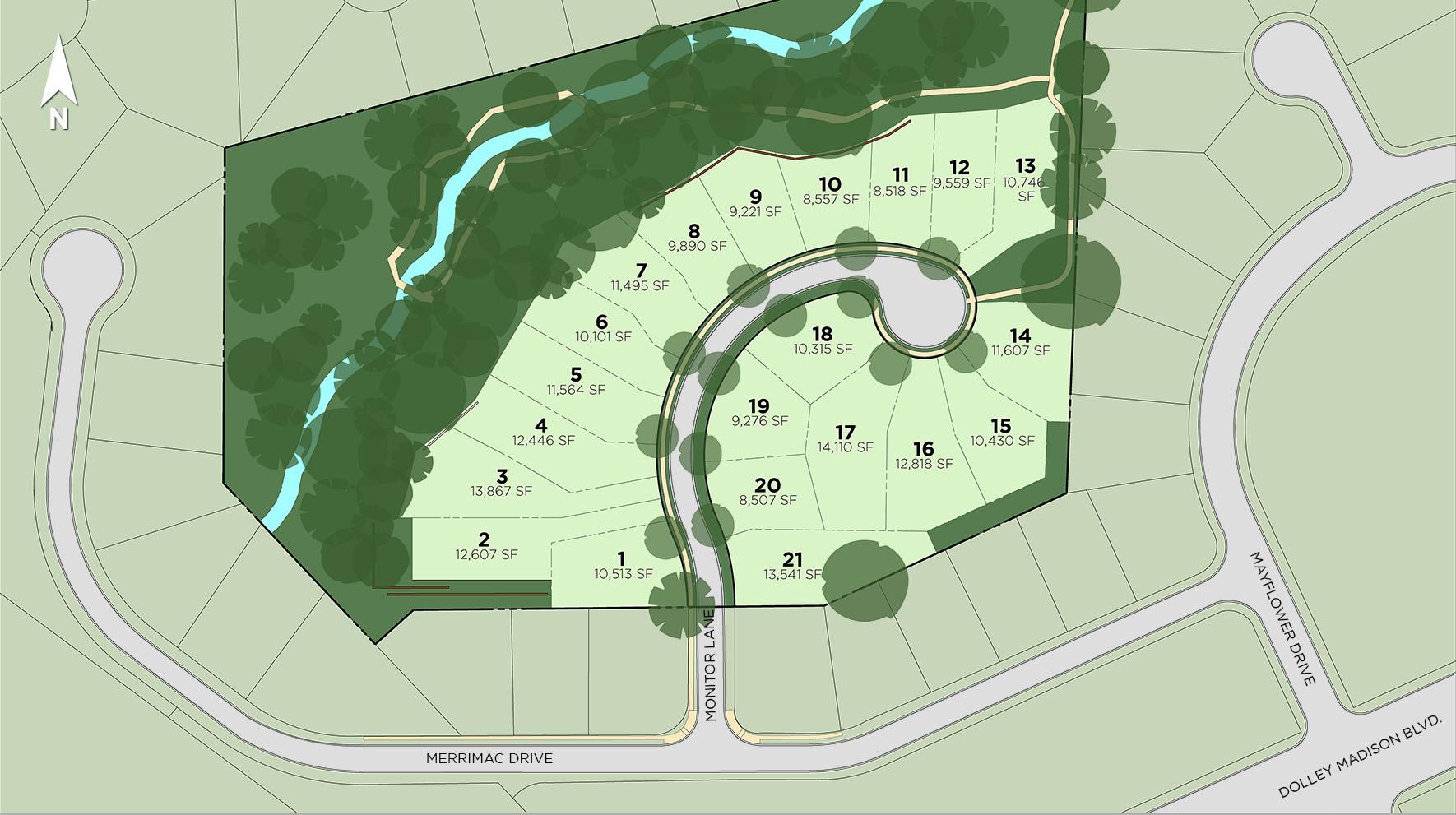 Retreat at McLean Site Plan