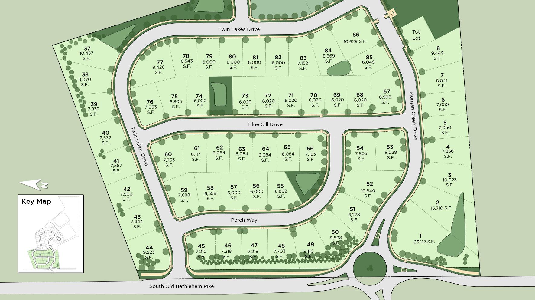 Twin Lakes Site Plan I