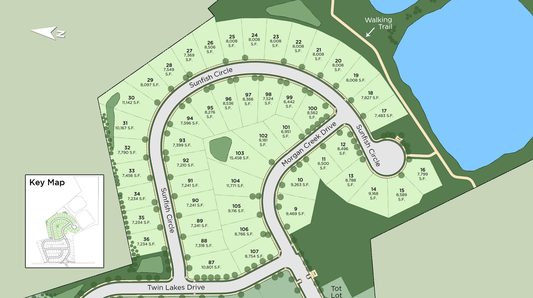Twin Lakes Site Plan II