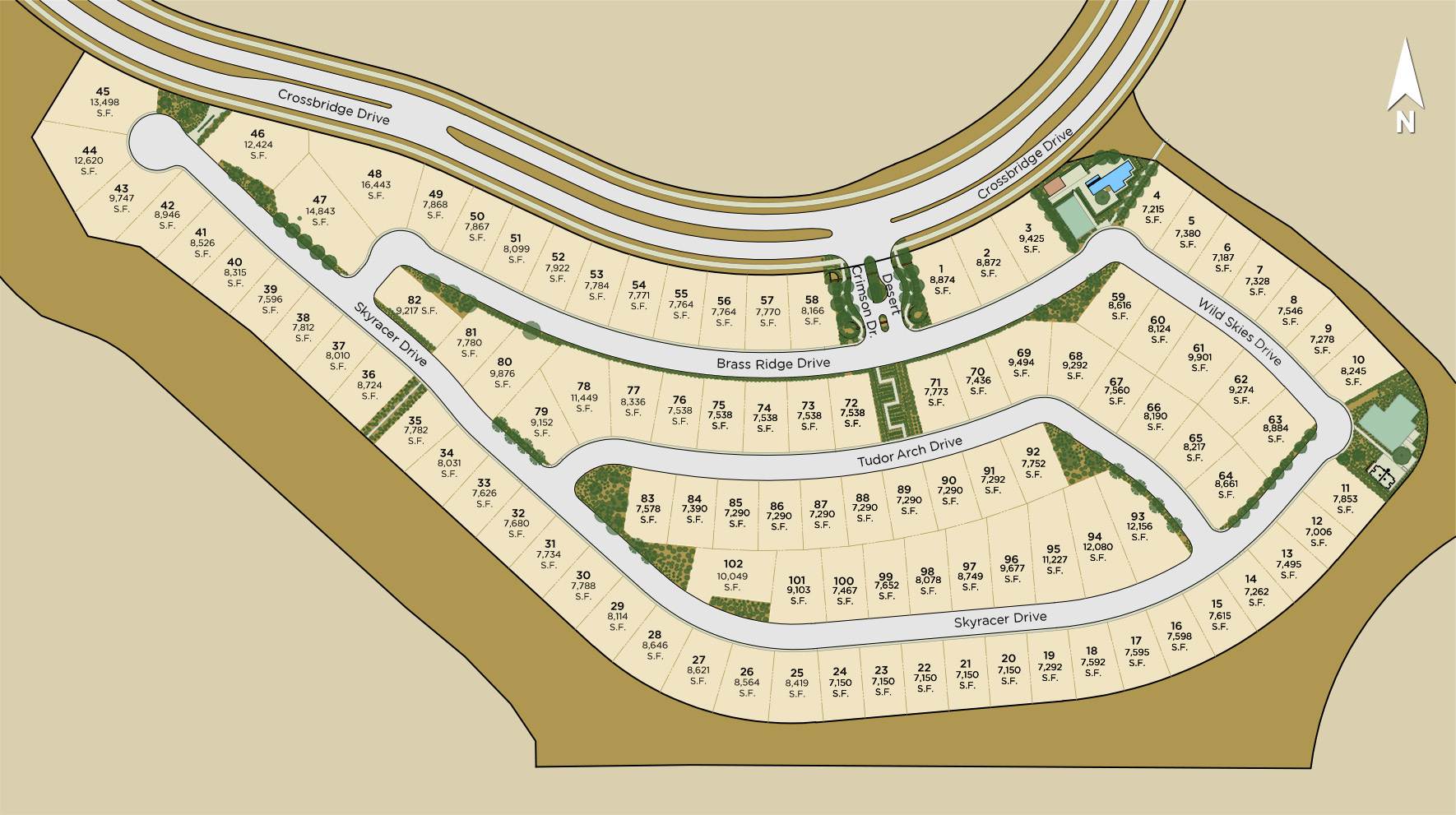 Shadow Point Site Plan