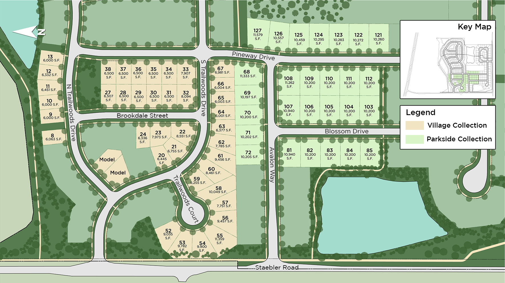 Trailwoods of Ann Arbor Site Plan