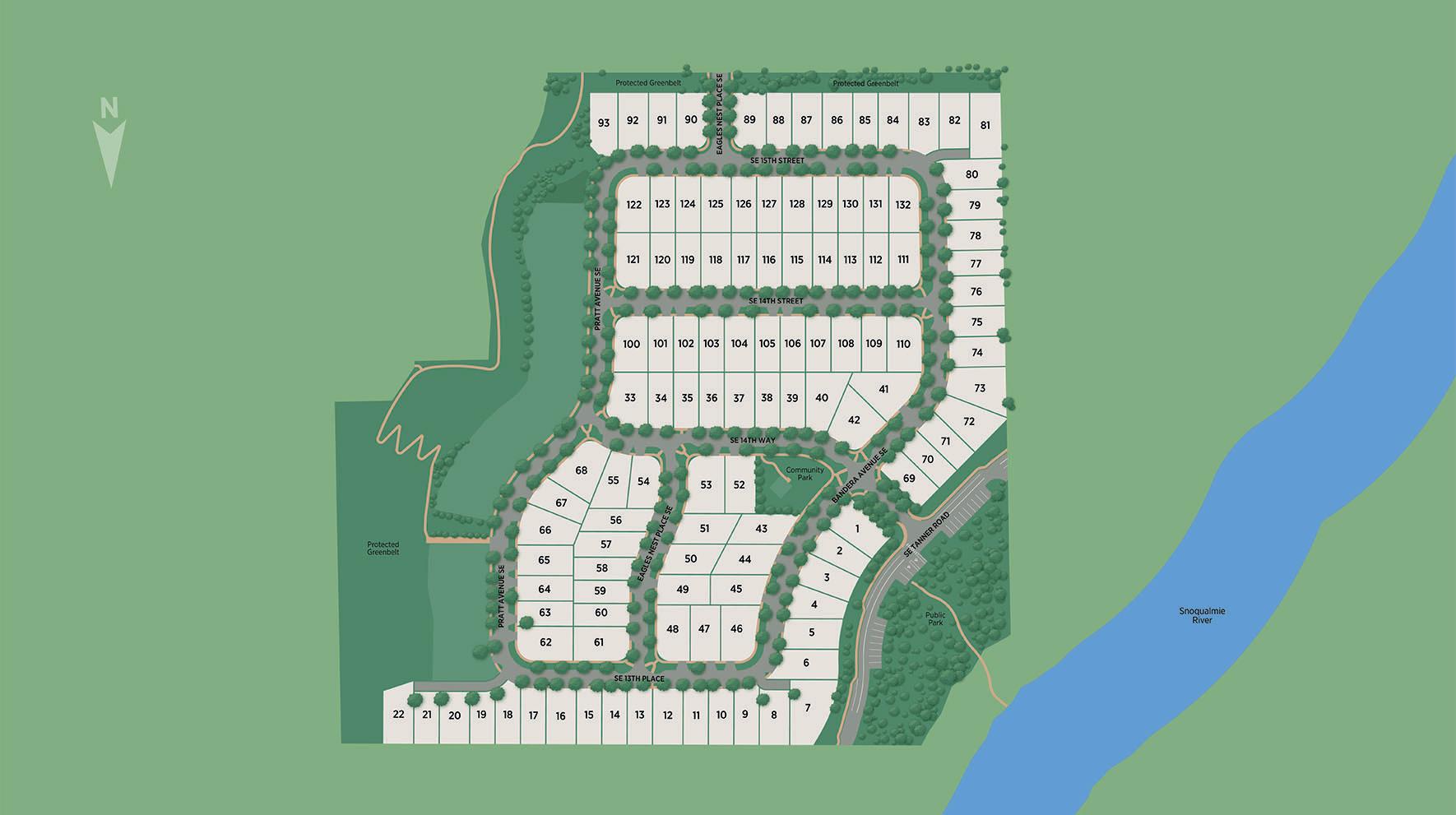 Cascade Canyon Site Plan