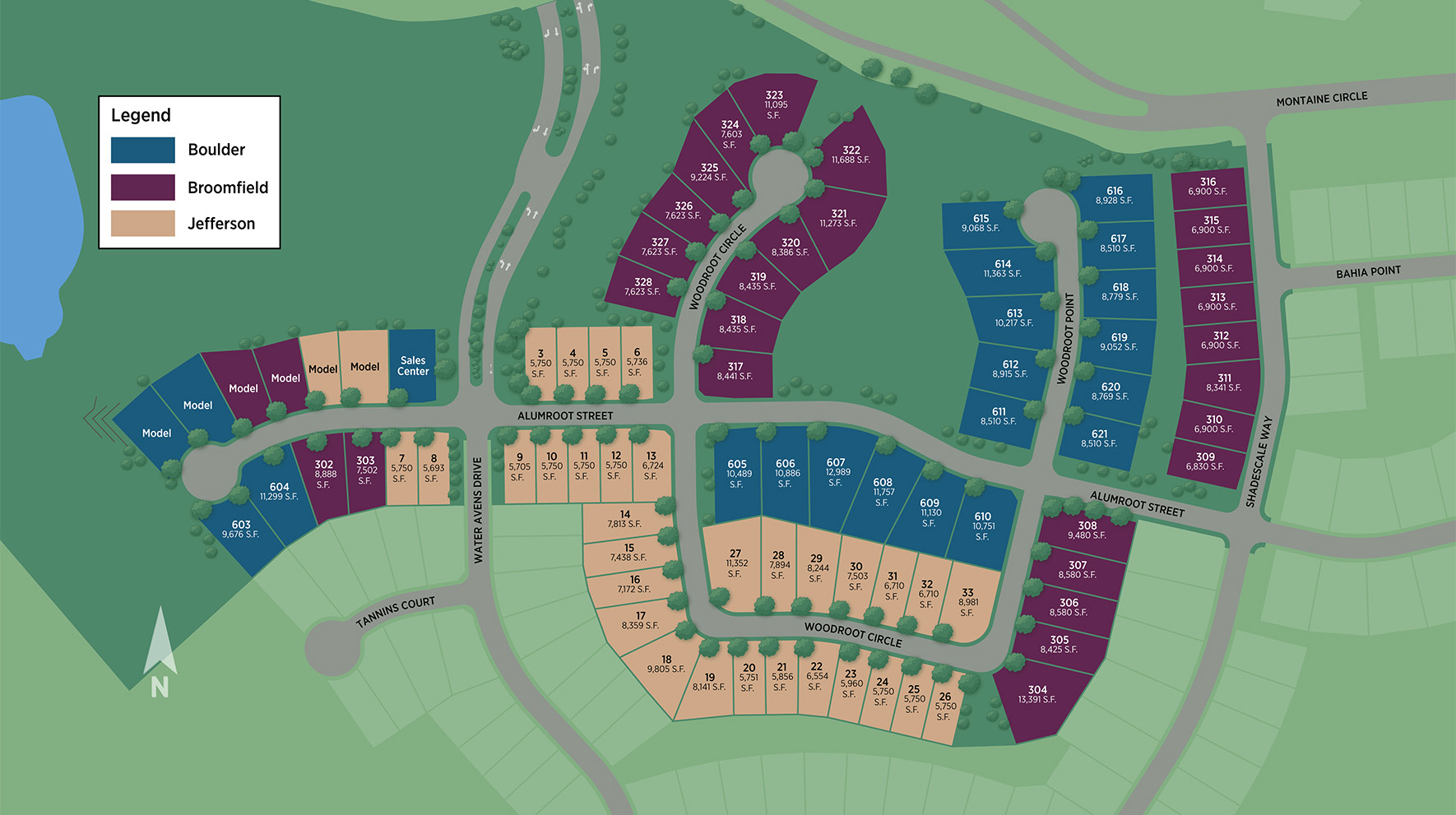 Regency at Montaine Overall Site Plan