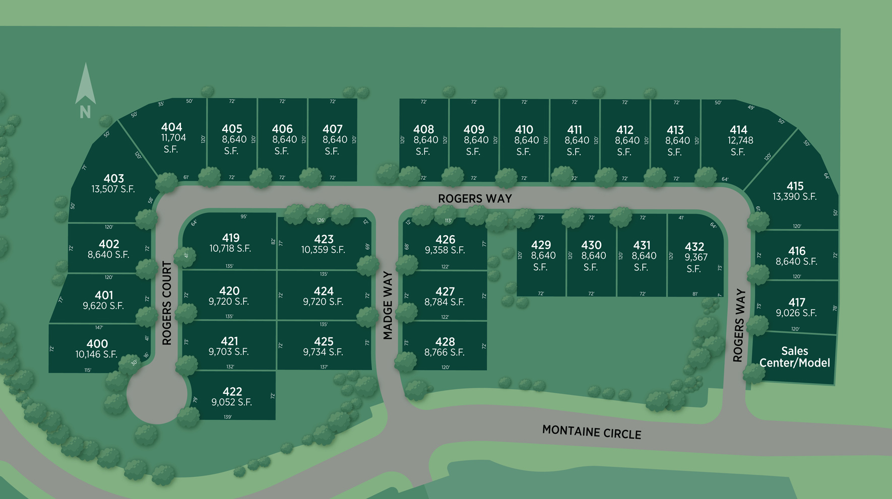 Montaine - Estate Collection Site Plan I