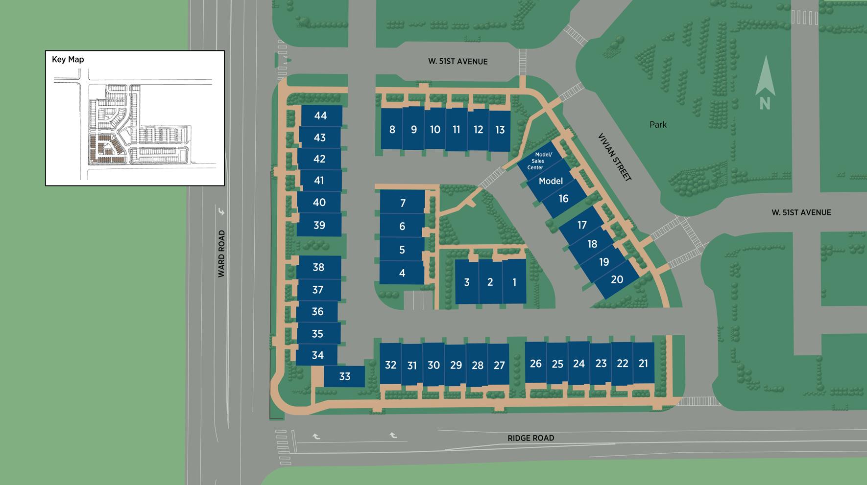 The Ridge at Ward Station Site Plan I