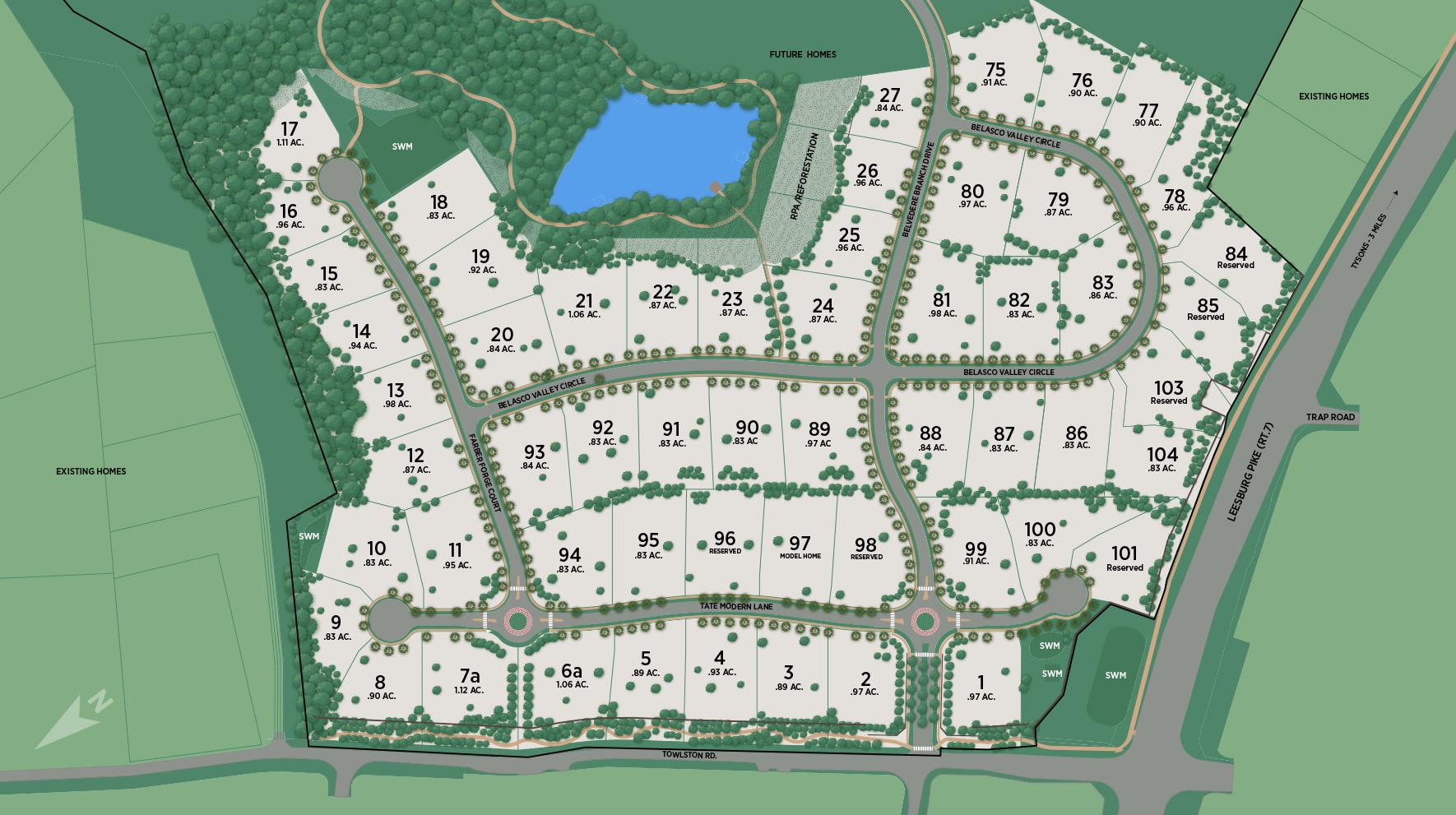 Arden Site Plan