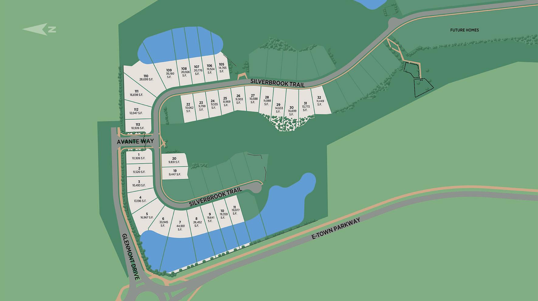 Edison - Ambassador Collection Site Plan I