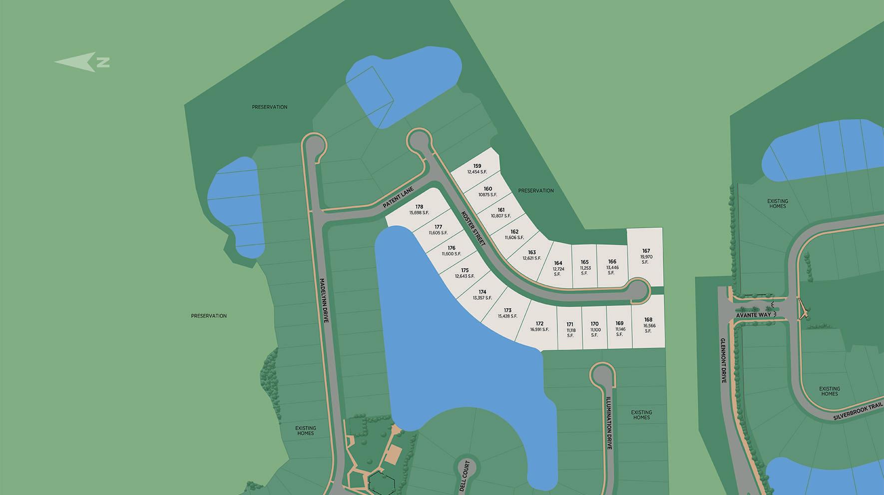 Edison - Estate Collection Site Plan
