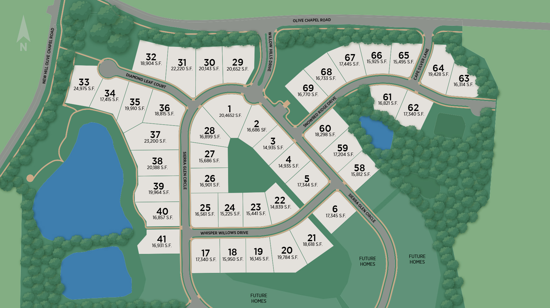 Willow Hills Site Plan