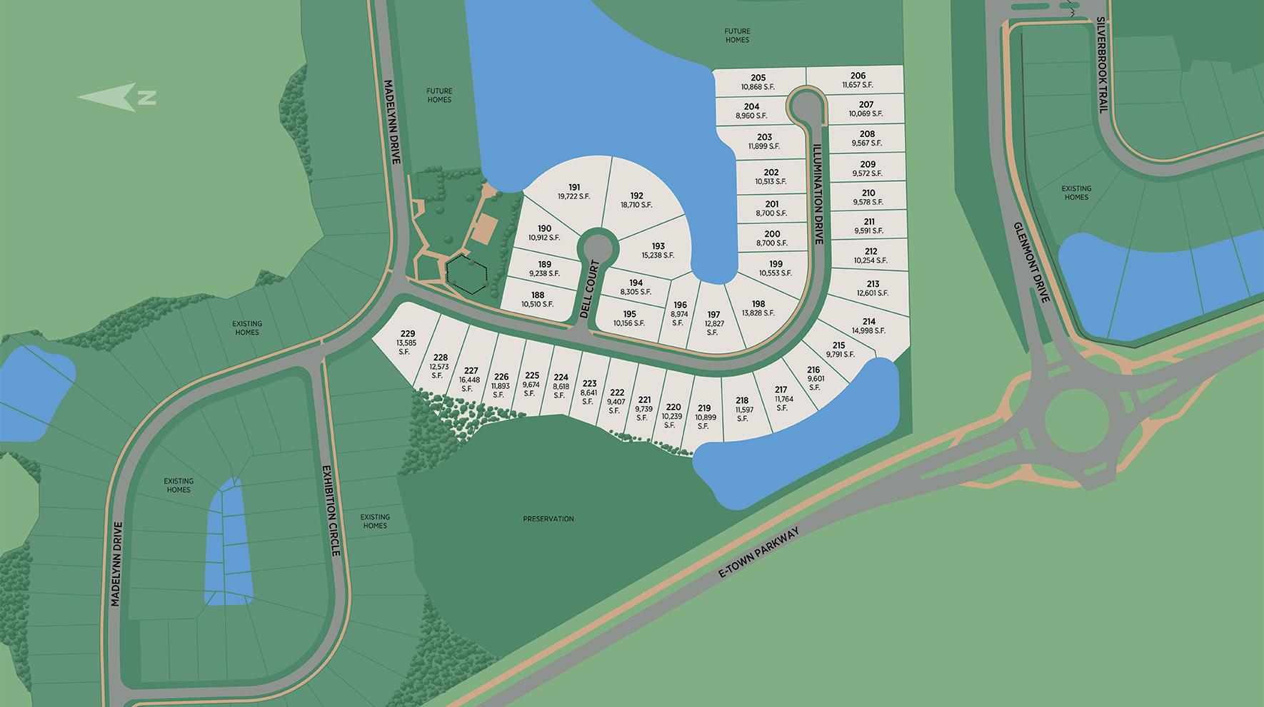 Edison - Heritage Collection Site Plan II