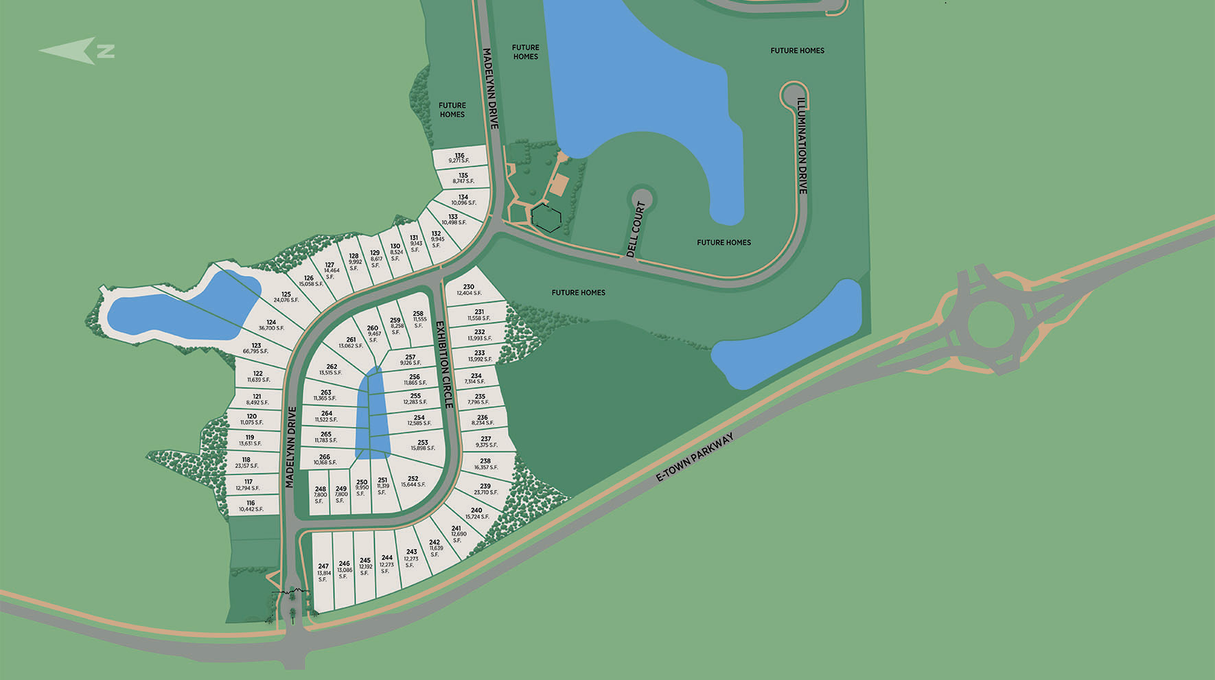 Edison - Heritage Collection Site Plan I