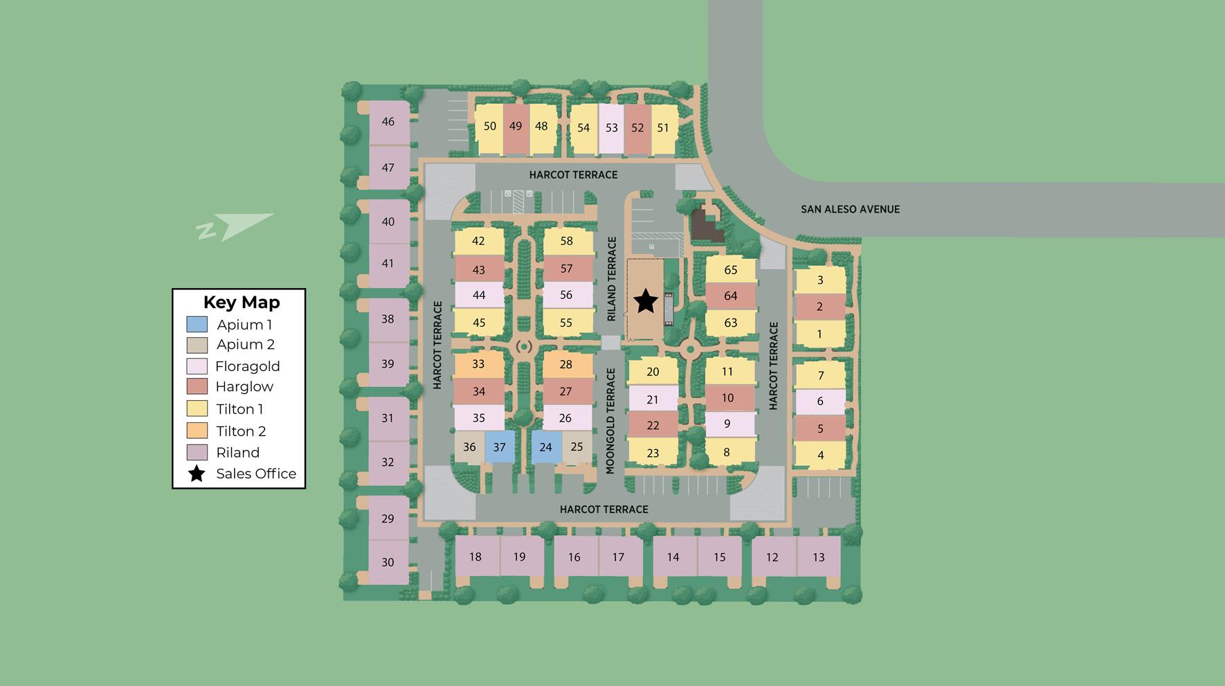 370 Aleso Site Plan