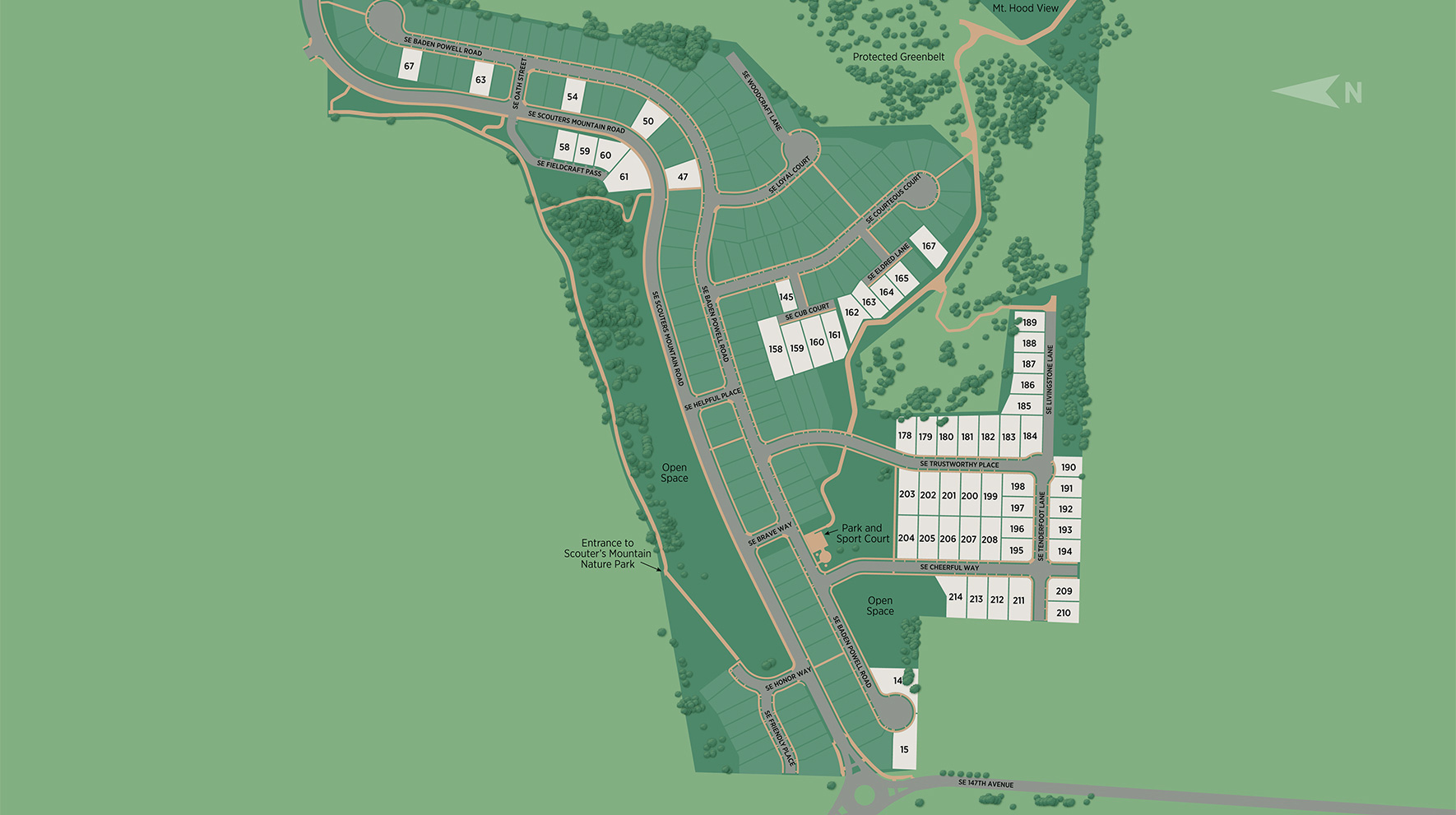 Toll Brothers at Scouters Mountain Site Plan
