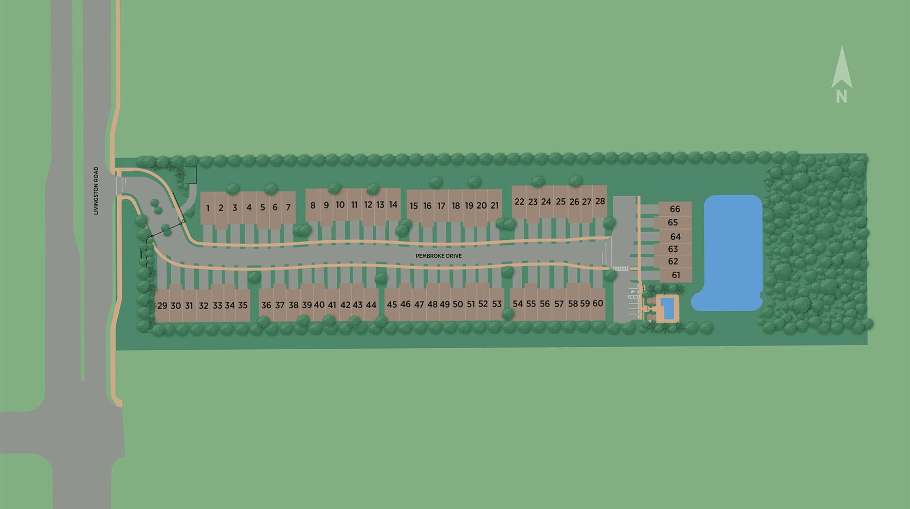 Hamilton Place Site Plan