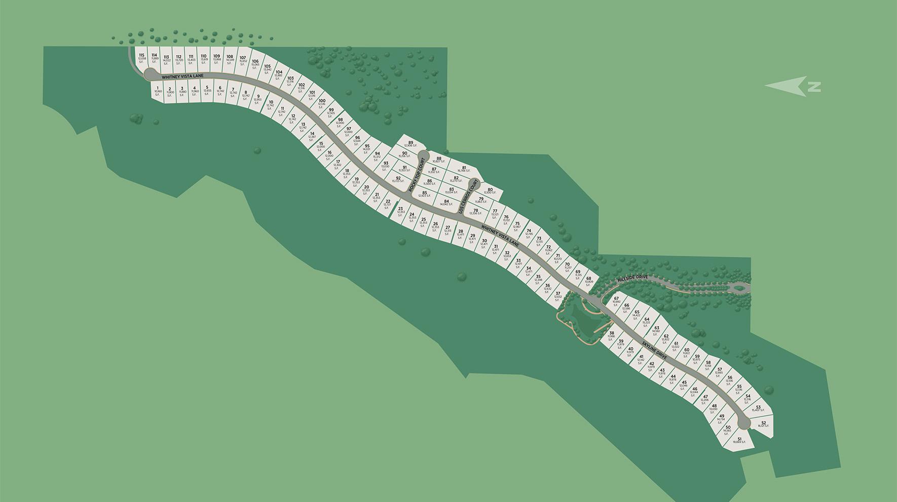 Skyline Site Plan