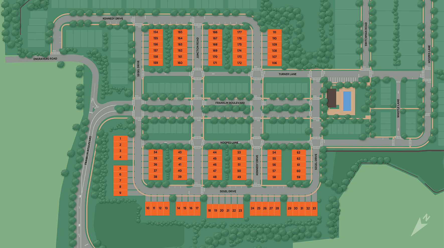 Franklin Station - The Villages Collection Site Plan