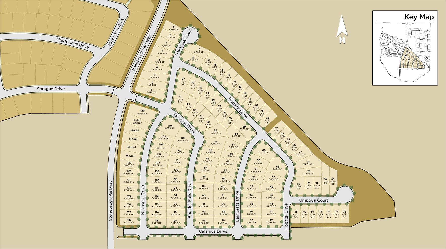 Merida at Stonebrook Site Plan II