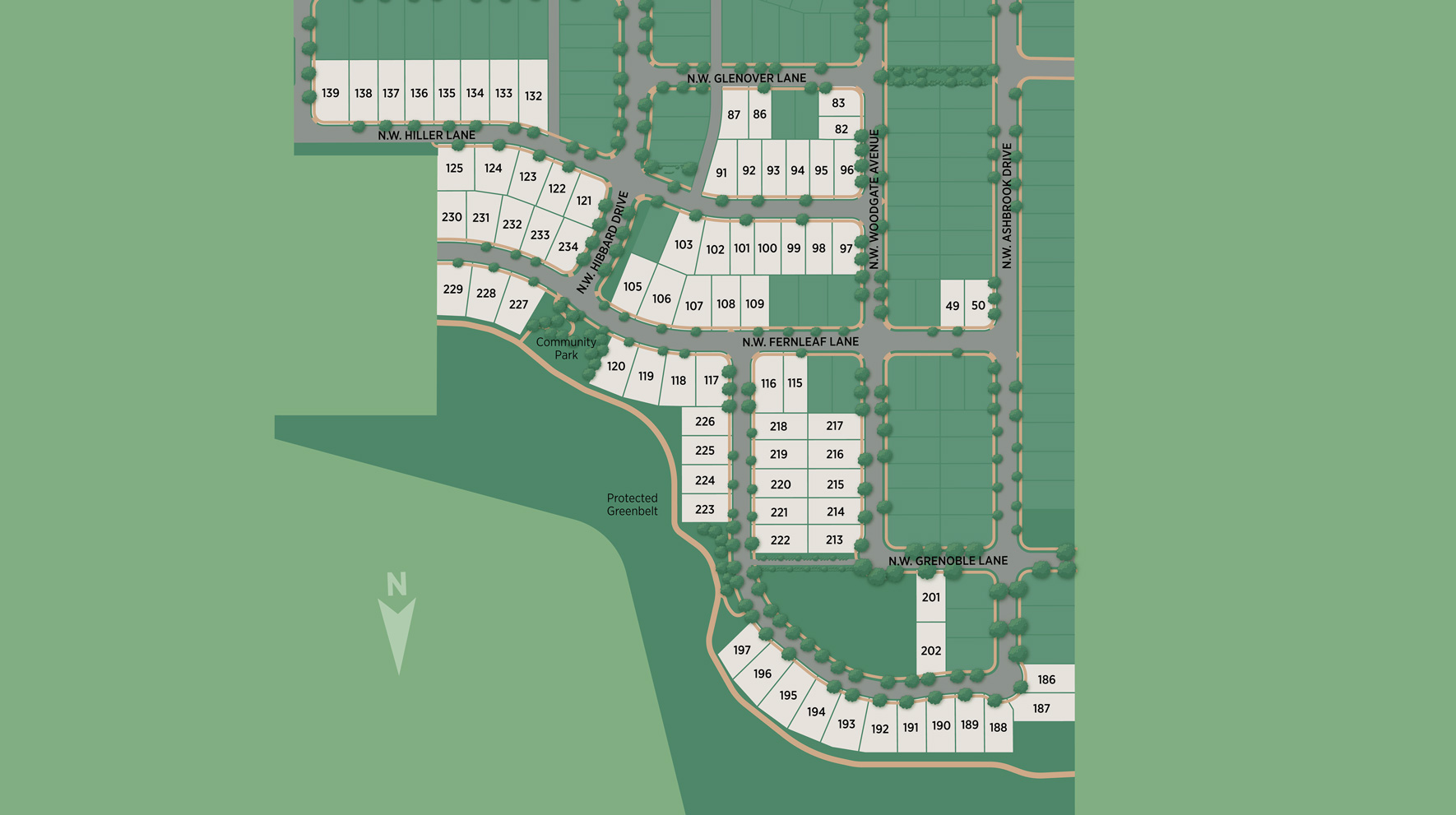 Toll Brothers at Thompson Woods Site Plan