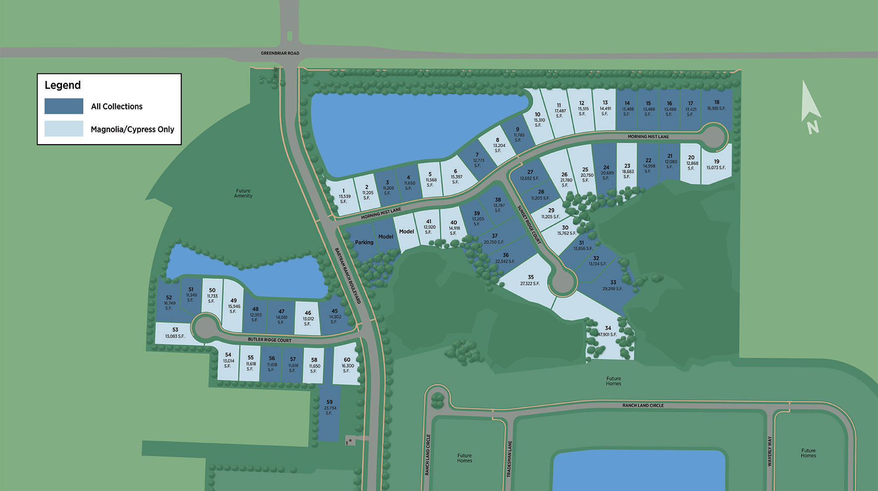 Bartram Ranch Site Plan I