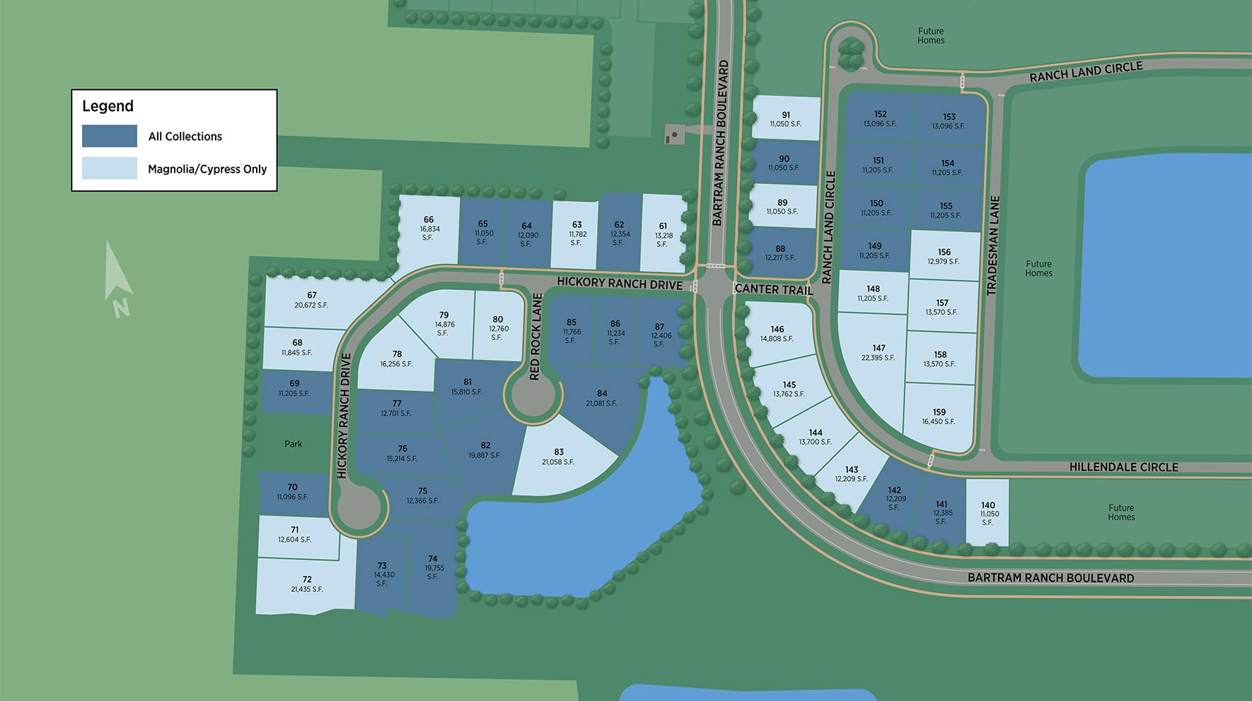 Bartram Ranch Site Plan II