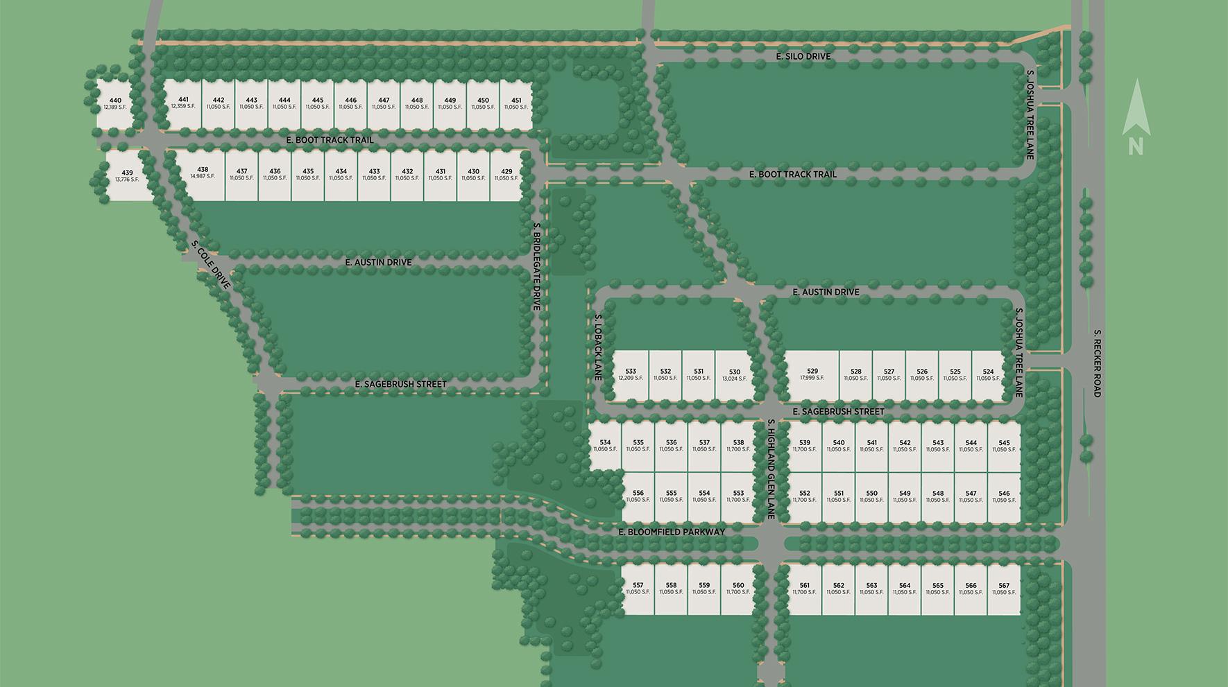 Flora at Morrison Ranch Site Plan