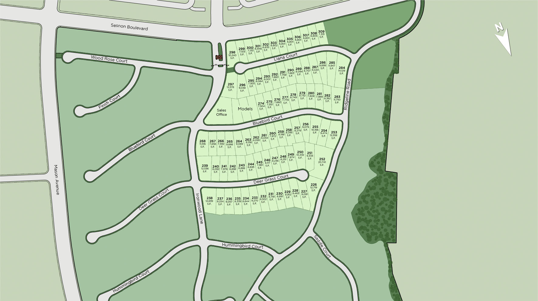 Hillcrest at Porter Ranch - Highlands Collection Site Plan