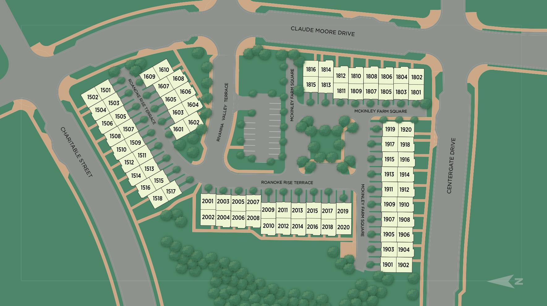 Metro Walk at Moorefield Station - Lofts Site Plan