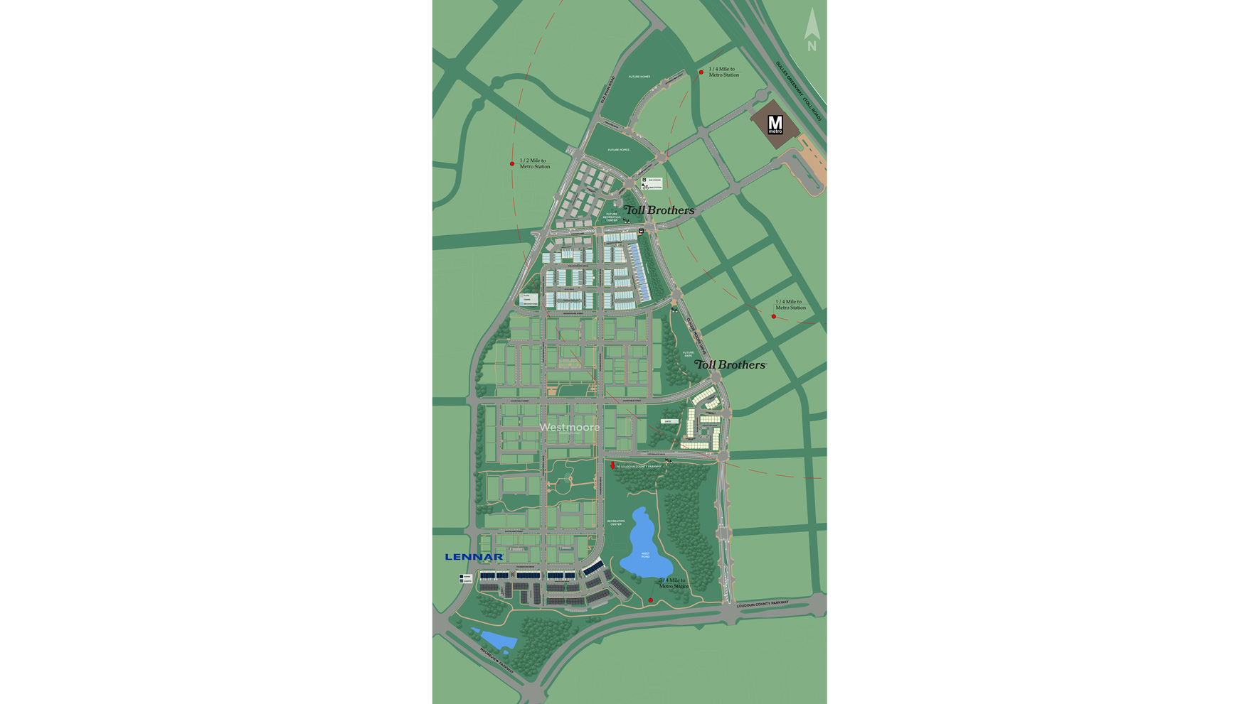 Metro Walk at Moorefield Station Overall Site Plan