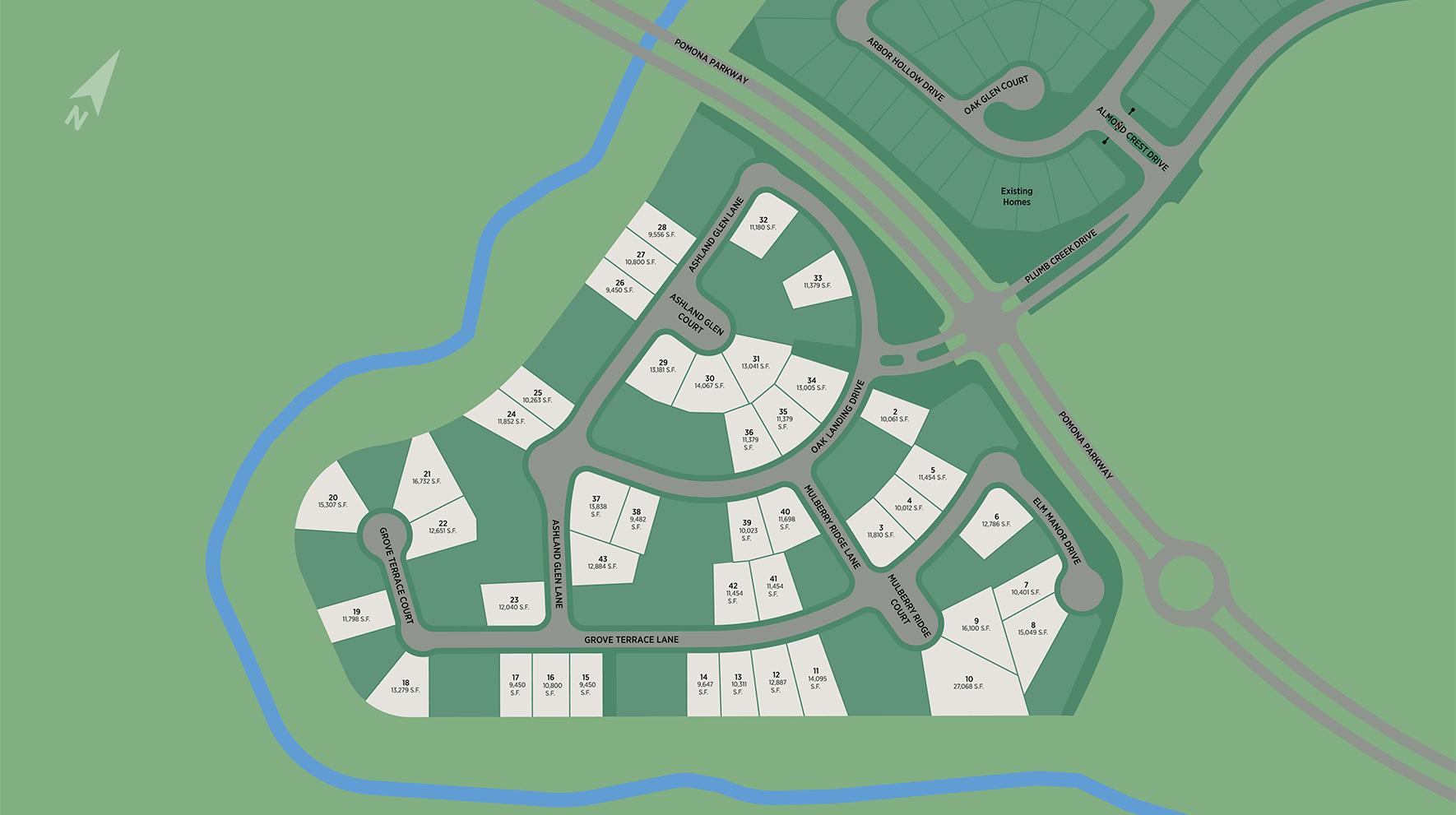 Pomona - Executive Collection Site Plan