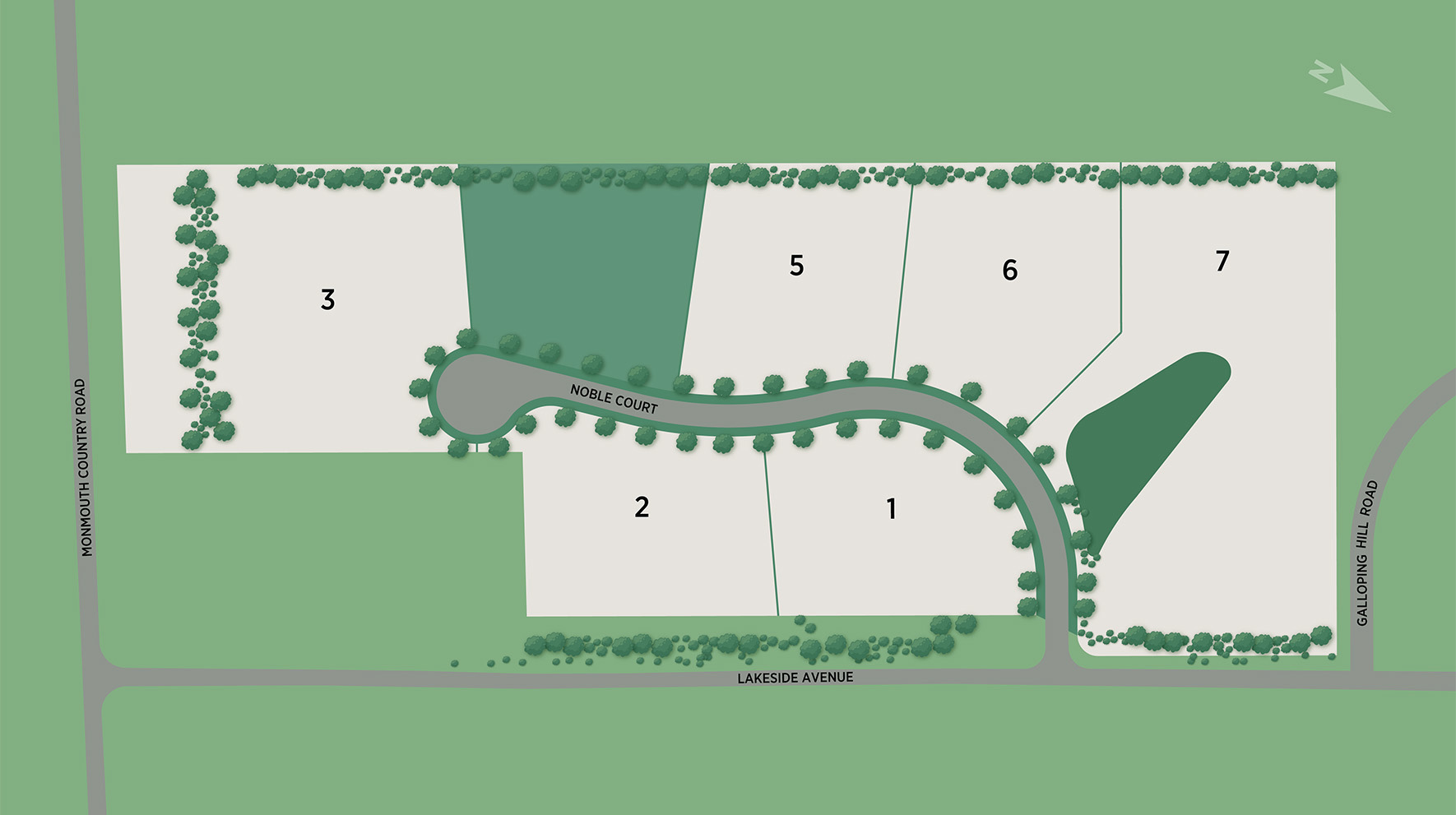 Reserve at Colts Neck Site Plan