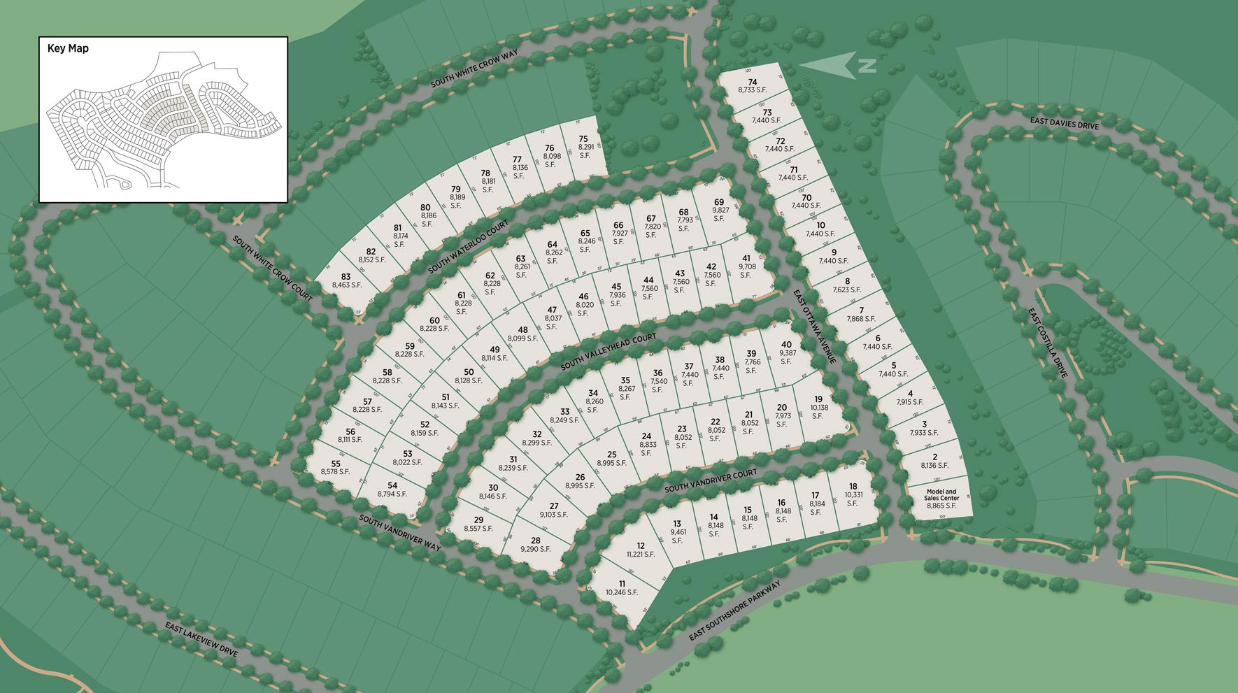 Retreat at Southshore Site Plan